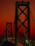 Bay Bridge from Treasure Island, San Francisco, California, USA Photographic Print by Roberto Gerometta
