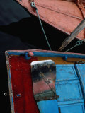Boat Rudder on the Island of Burano, Burano, Veneto, Italy Photographic Print by Jeffrey Becom
