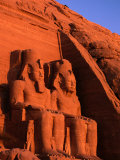 Statues of Ramesses at the Great Temple of Abu Simbel, Abu Simbel, Egypt Photographic Print by Anders Blomqvist