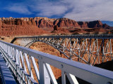 Navajo Bridge Over the Colorado River in Utah, Utah, USA Photographic Print by Carol Polich
