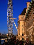 London Eye Ferris Wheel, London, England Photographic Print by Paul Kennedy