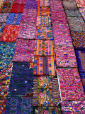 Display of Textiles, Antigua Guatemala, Guatemala Photographic Print by Alfredo Maiquez