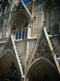 Facade Detail of St. Nicolas Cathedral, Famagusta, Cyprus Photographic Print by Charlotte Hindle