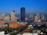 The City Skyline from Arcadia, Pretoria, Gauteng, South Africa Photographic Print by Richard I'Anson