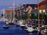 Christianshavn Canal, Copenhagen, Denmark Photographic Print by Anders Blomqvist