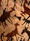 Detail of Batik, Zimbabwe Photographic Print by Jean-Bernard Carillet