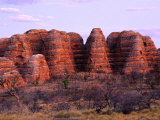 Bungle Bungles Rock Formations at Sunset, Purnululu National Park, Australia Photographic Print by Trevor Creighton