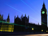 Palace of Westminster and Big Ben Tower, London, England Photographic Print by Paul Kennedy