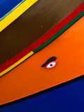 Eye of Horus Painted on Fishing Boat, Mgarr, Malta Photographic Print by Bethune Carmichael