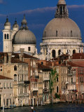 Santa Maria Della Salute with Apartment Buildings in Foreground, Venice, Italy Photographic Print by Bethune Carmichael
