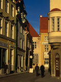People on Kuninga Street in Central Tallinn, Tallinn, Estonia Photographic Print by Jonathan Smith