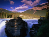 Athabasca Falls, Jasper National Park, Alberta, Canada Photographic Print by Lawrence Worcester