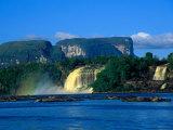 Saltos Hachas (Hachas Falls), Canaima, Venezuela Photographic Print by Krzysztof Dydynski