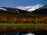 Autumn Landscape, Skjak, Oppland, Norway Photographic Print by Anders Blomqvist