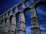 Section of Aqueduct of Segovia, Segovia, Spain Photographic Print by Damien Simonis
