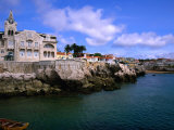 Waterfront Mansion, Cascais, Portugal Fotoprint van Anders Blomqvist