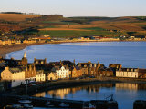 Town Buildings Overlooking Harbour, Stonehaven, United Kingdom Photographic Print by Jonathan Smith