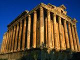 Temple of Bacchus, Baalbek, Al Biqa, Lebanon Photographic Print by Jane Sweeney