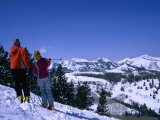 Skiing in Deer Valley in Park City, Park City, Utah, USA Photographic Print by Cheyenne Rouse