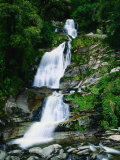 Depot Creek Falls Mt. Aspiring National Park, Otago, New Zealand Photographic Print by Barnett Ross