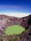 Principal Crater of Volcanic Area, Irazu Volcano National Park, Costa Rica Photographic Print by Alfredo Maiquez