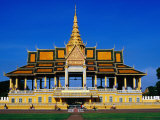 Chan Chaya Pavilion and Entrance to Royal Palace, Phnom Penh, Cambodia Photographic Print by Richard I'Anson