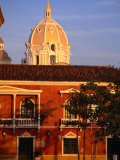 """""""Dome of Cartagena De Indias"""" Cathedral and Colonial Architecture, Cartagena, Colombia Photographic Print by Alfredo Maiquez"""