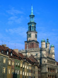Town Hall in the Old Town Square, Poznan, Poland Photographic Print by Krzysztof Dydynski