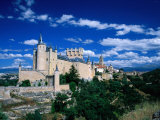 The Alcazar, Segovia, Castilla-Y Leon, Spain Photographic Print by David Tomlinson