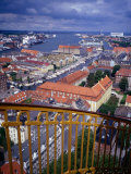 City from the Rundetarn (Round Tower), Copenhagen, Denmark Photographic Print by Charlotte Hindle