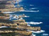 Aerial View of Victoria's Shipwreck Coast, Victoria, Australia Photographic Print by Tony Wheeler