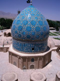 Dome of the Tomb of Shah Ne&#39;Matollah Vali, Mahan, Iran Photographic Print by Simon Richmond