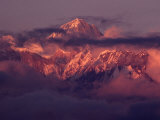 Annapurna 11 at Sunset, Gandaki, Nepal Photographic Print by Richard I'Anson