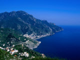 Coastline South of Ravello, Ravello, Campania, Italy Photographic Print by Roberto Gerometta