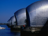 The Thames Barrier, London, United Kingdom Photographic Print by Charlotte Hindle