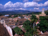 Rooftops of Town, Trinidad, Cuba Photographic Print by Rick Gerharter