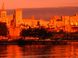Palais Des Papes, Avignon, France Photographic Print by John Elk III