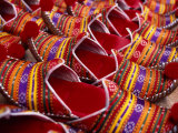 Detail of Turkish Slippers at Market, Istanbul, Turkey Photographic Print by Wayne Walton