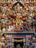 Highly Decorated Sri Lankan Hindu Temple or Kovils, Colombo, Western, Sri Lanka Photographic Print by Greg Elms