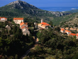 Velo Grablje Village, Croatia Photographic Print by Wayne Walton