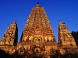 Mahabodhi Temple, Bodhgaya, Bihar, India Photographic Print by Richard I'Anson