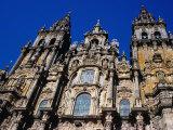 Catedral Del Apostol, Santiago De Compostela, Galicia, Spain Photographic Print by Tony Wheeler