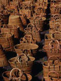 Bags and Baskets, Tenganan, Bali, Indonesia Photographic Print by Tony Wheeler