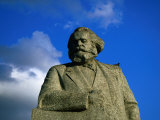 Karl Marx Statue on Teatralnaya Square, Moscow, Russia Photographic Print by Jonathan Smith
