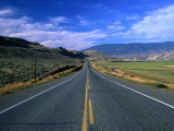 Trans-Canada Highway, South of Small Town Cache Creek, British Columbia, Canada Photographic Print by Barnett Ross