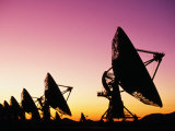 Very Large Array (Vla), Radio Telescope, USA Photographic Print by John Elk III