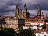 Cathedral De Apostol, Santiago De Compostela, Spain Photographic Print by Wayne Walton