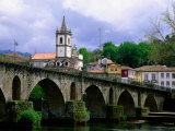 Bridge Over Rio Lima, Ponte Da Barca, Portugal Photographic Print by Anders Blomqvist