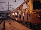 Suburban Train, Chennai, India Photographic Print by Eddie Gerald