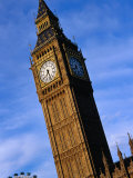 Exterior of Big Ben with Part of London Eye, London, United Kingdom Photographic Print by Glenn Beanland